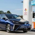 Carros de Hidrógeno Toyota